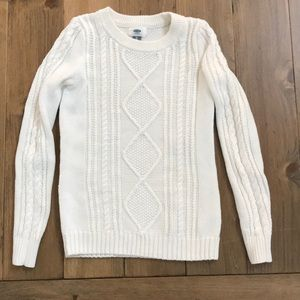 Old Navy Sweater XS White